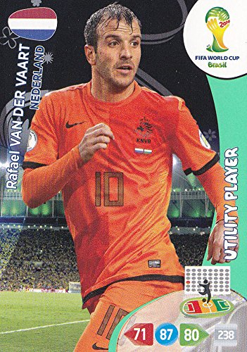 FIFA World Cup 2014 Brazil Adrenalyn XL Rafael Van Der Vaart Utility Player