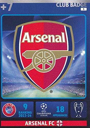 Champions League Adrenalyn XL 2014/2015 Arsenal Club Badge 14/15