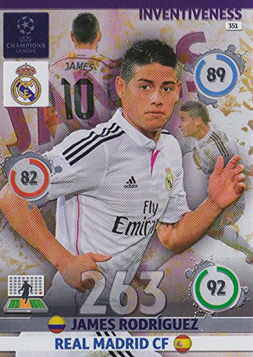 Champions League Adrenalyn XL 2014/2015 James Rodriguez 14/15 Inventiveness