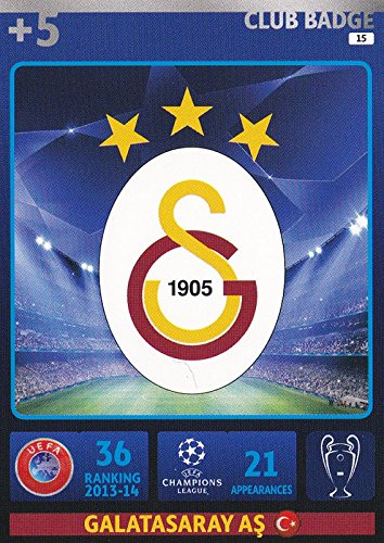 Champions League Adrenalyn XL 2014/2015 Galatasaray Club Badge 14/15