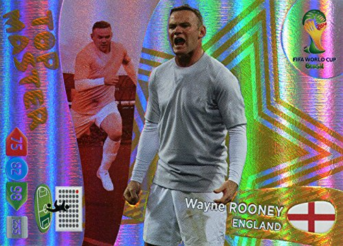 FIFA World Cup 2014 Brazil Adrenalyn XL Wayne Rooney (International Version) Top Master