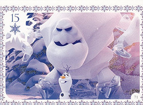 Disney Frozen Marshmellow Movie Story Trading Card #71