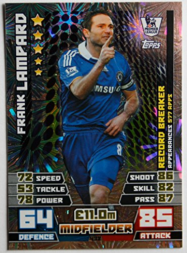 MATCH ATTAX 2014/2015 > RECORD BREAKERS FRANK LAMPARD > Number 432