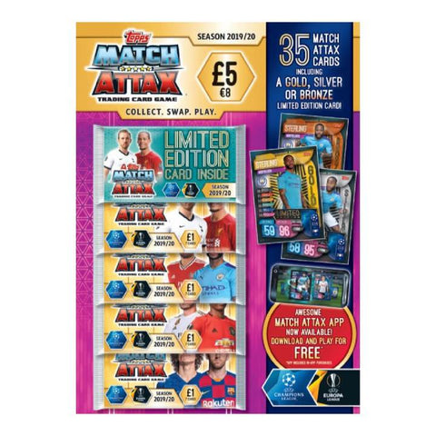 Match Attax 2019/20 Trading Card Multipack