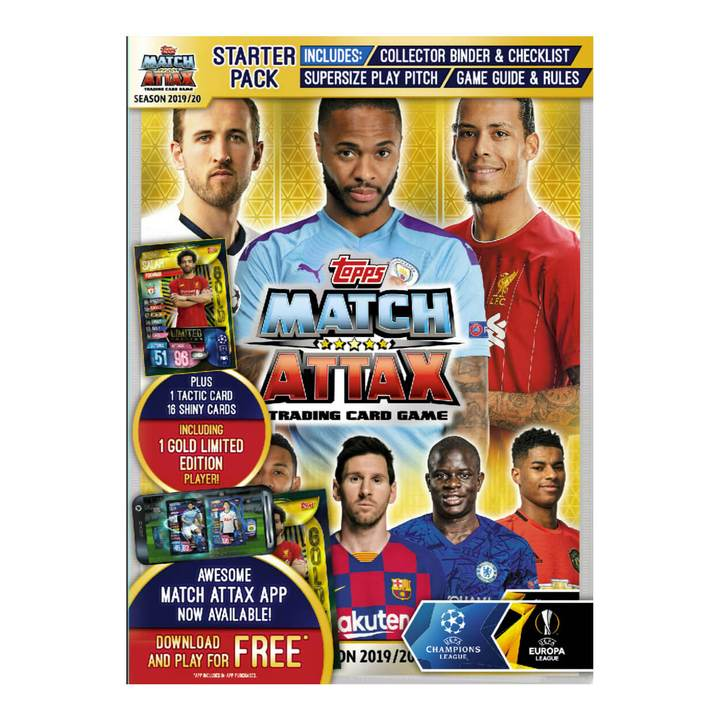 Match Attax 2019/20 Trading Card Collection Starter Pack
