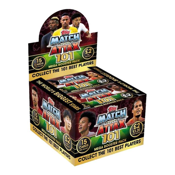 Match Attax 101 Trading Card 50 Deluxe Packs