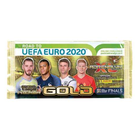 Panini Road to Euro 2020 Premium Gold Booster with 3 Limited Edition