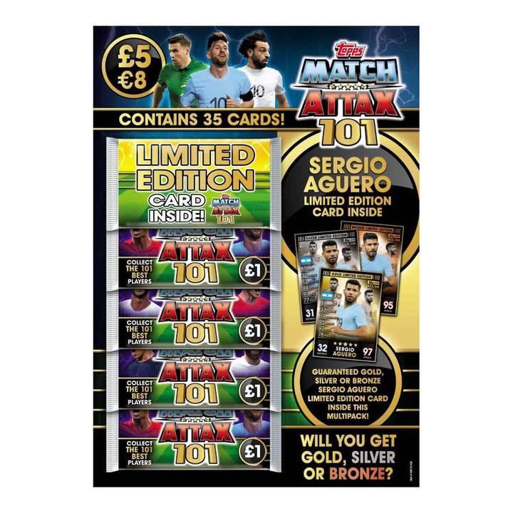 Match Attax 101 Trading Card Multipack