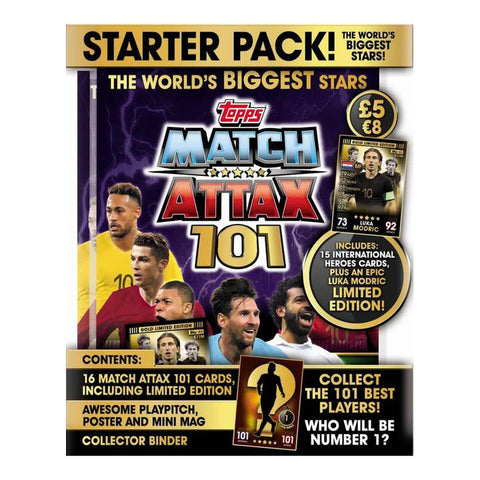 Match Attax 101 Trading Starter Pack