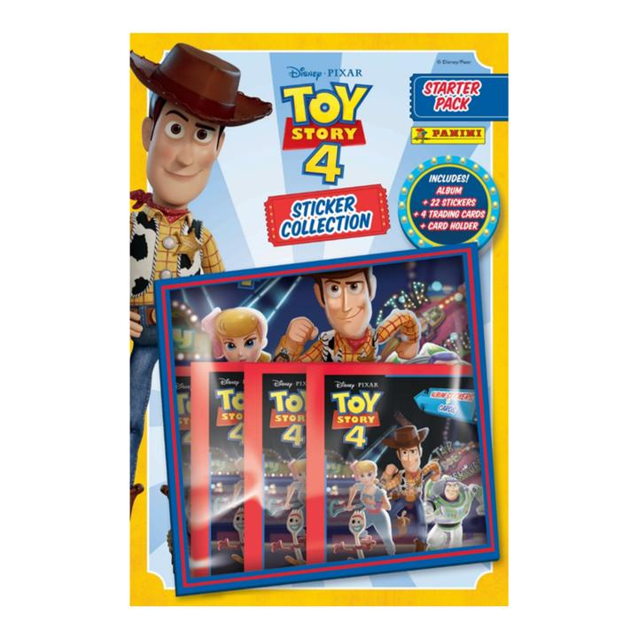 Panini Toy Story 4 Collection Sticker Starter Pack (Album)