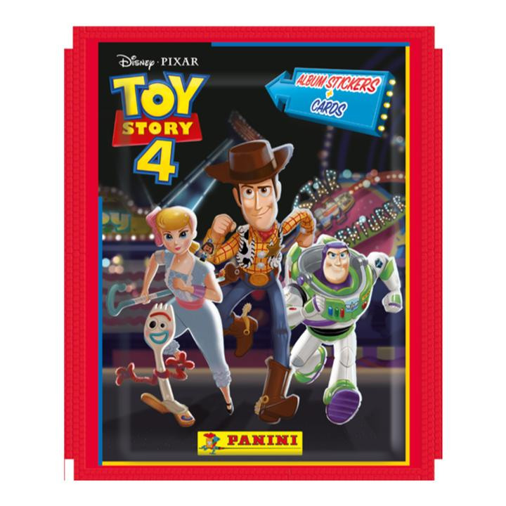 Panini Toy Story 4 - 50 Sticker Packs (Booster Box)
