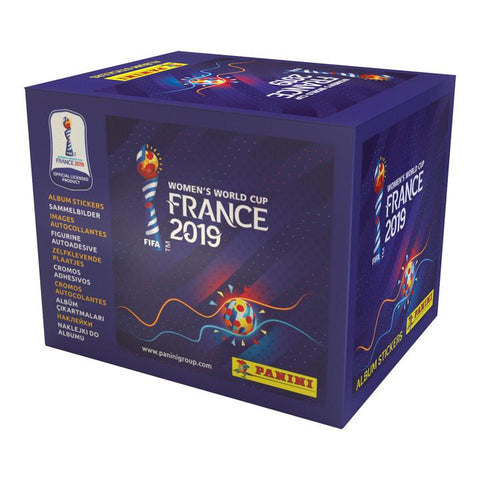 Women's World Cup France 2019 Sticker Packs