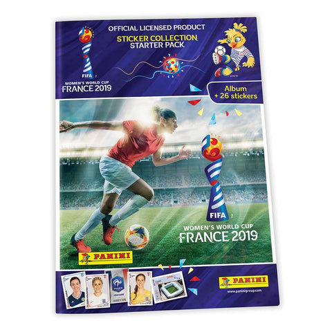 Women's World Cup France 2019 Sticker Starter Pack