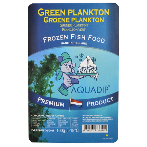 Frozen Green Plankton-Reefphyto Ltd