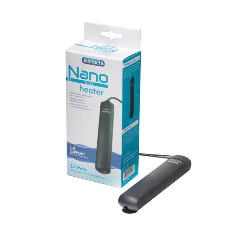 Interpet Nano Stat Heater 25W-Reefphyto Ltd