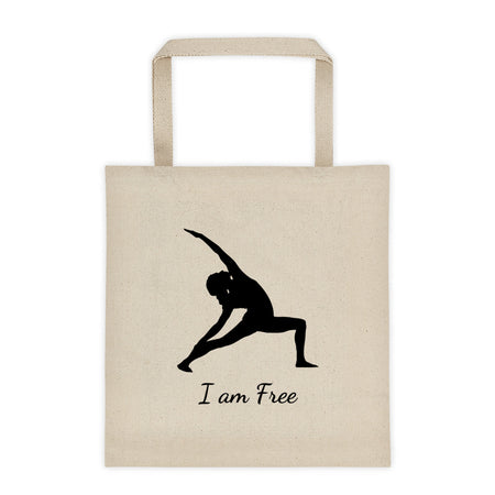 I am Free - Affirmation Tote bag