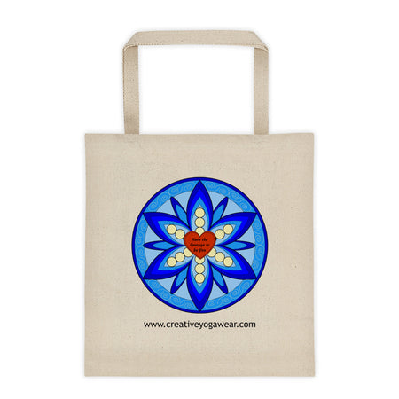Have the Courage to be You - Blue - Tote Bag