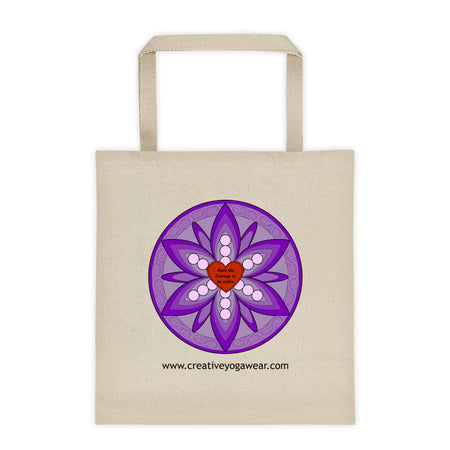 Have the Courage to be You - Purple - Tote Bag