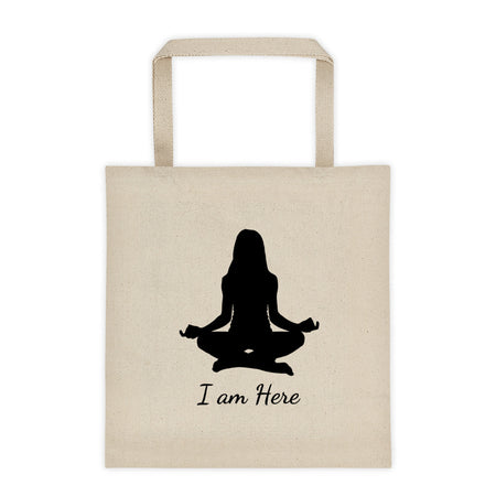 I am Here - Affirmation Tote bag