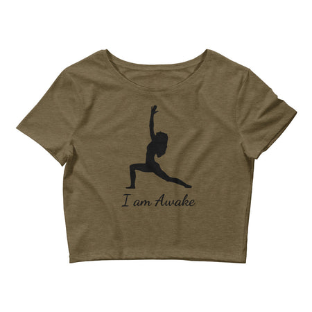 I am Awake - Affirmation Crop Top
