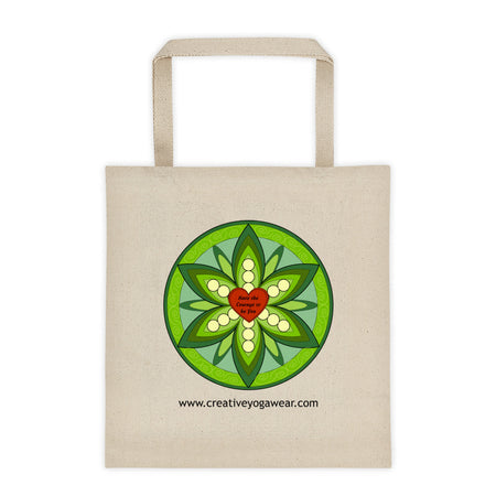 Have the Courage to be You - Green - Tote Bag