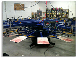 12 Color Automatic Screen Printing Press