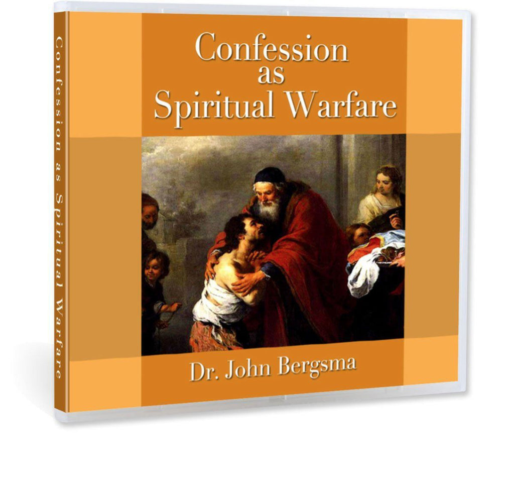 How John Bergsma came to realize the importance of confession CD