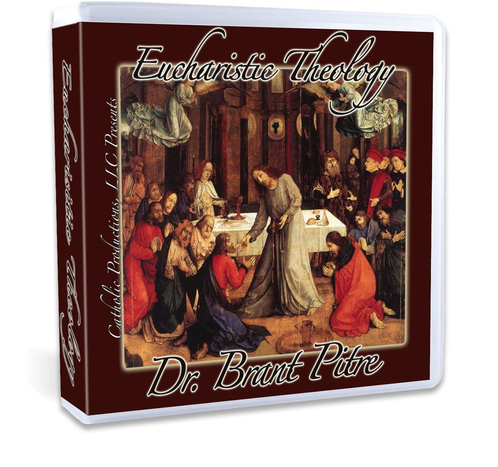A thorough Biblical and historical study of the Eucharist with Dr. Brant Pitre CD