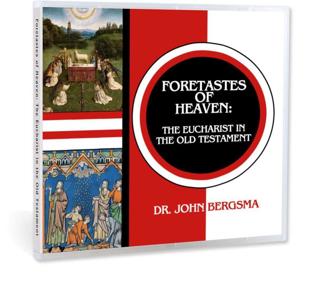 Dr. John Bergsma gives a Bible study on the Eucharistic images and shadows in the Old Testament CD
