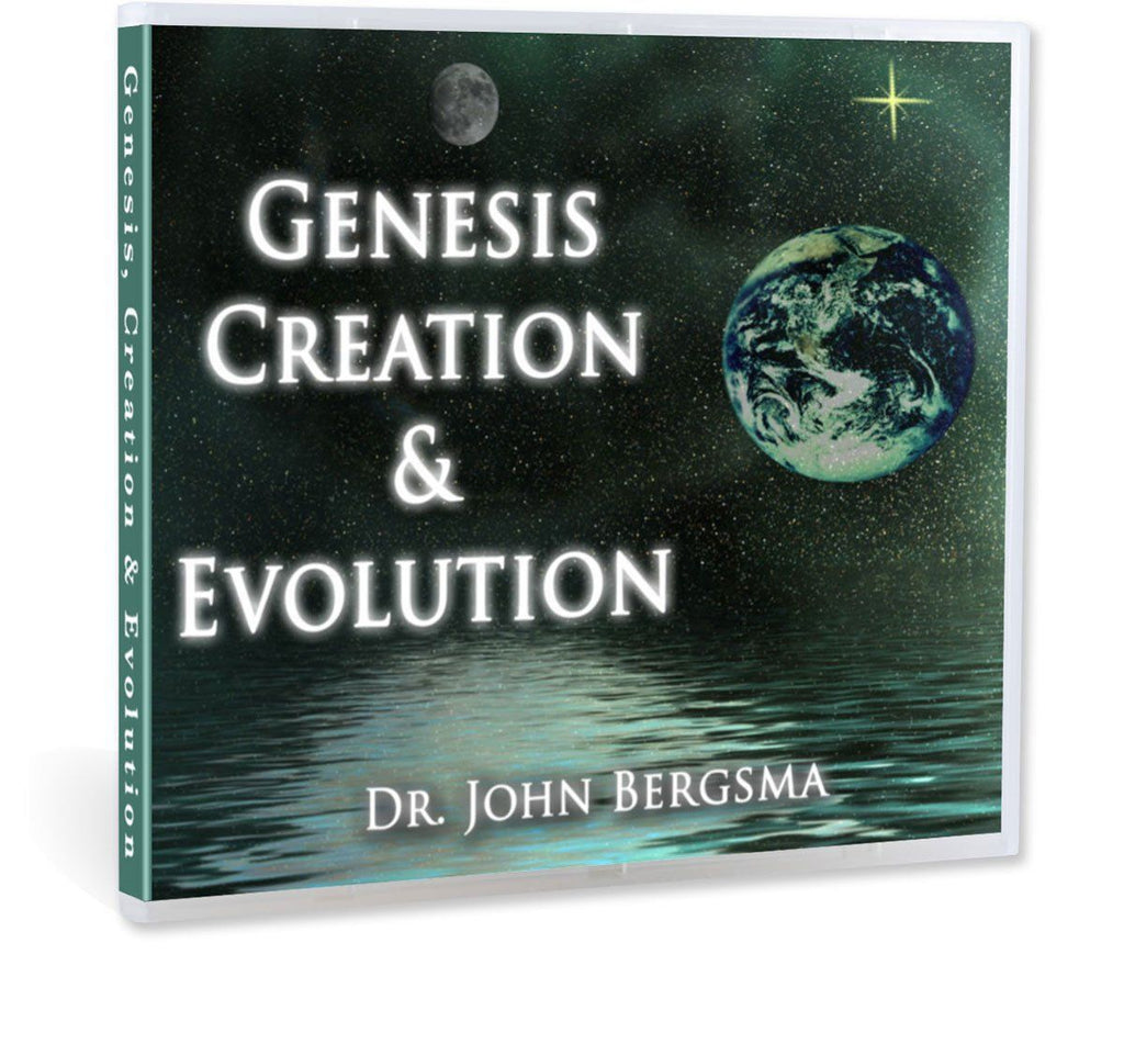Dr. John Bergsma gives a Catholic explanation of the relationship between Genesis, Creation and Evolution CD