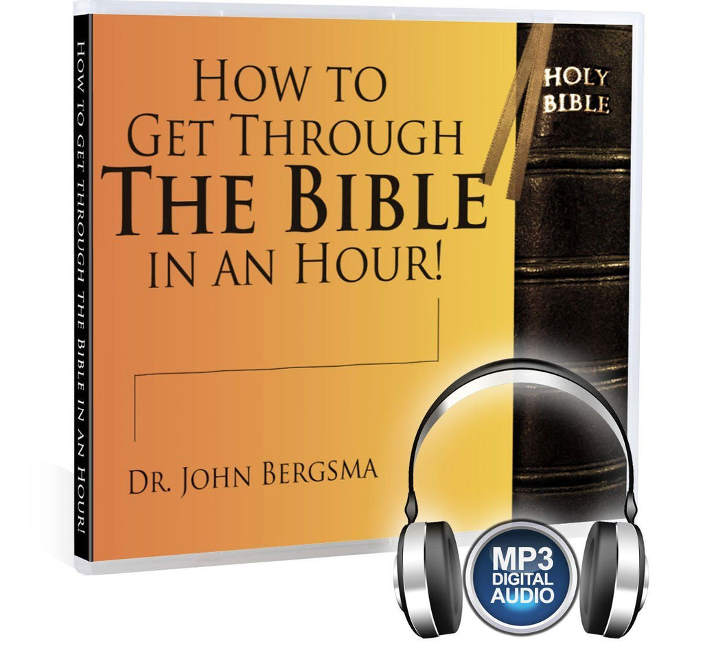Dr. John Bergsma shows you the major covenants of the Bible to help you get you through it in just one hour MP3