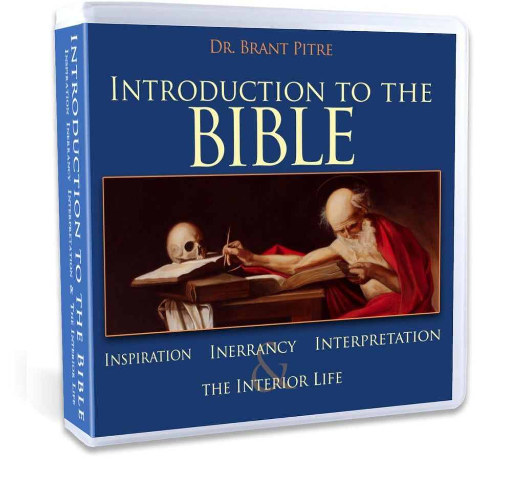 Dr. Brant Pitre will walk you through how Catholics understand and interpret sacred scripture in this Catholic Bible Study CD