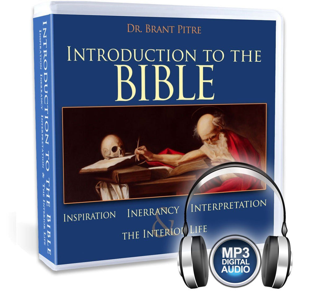 Dr. Brant Pitre will walk you through how Catholics understand and interpret sacred scripture in this Catholic Bible Study MP3
