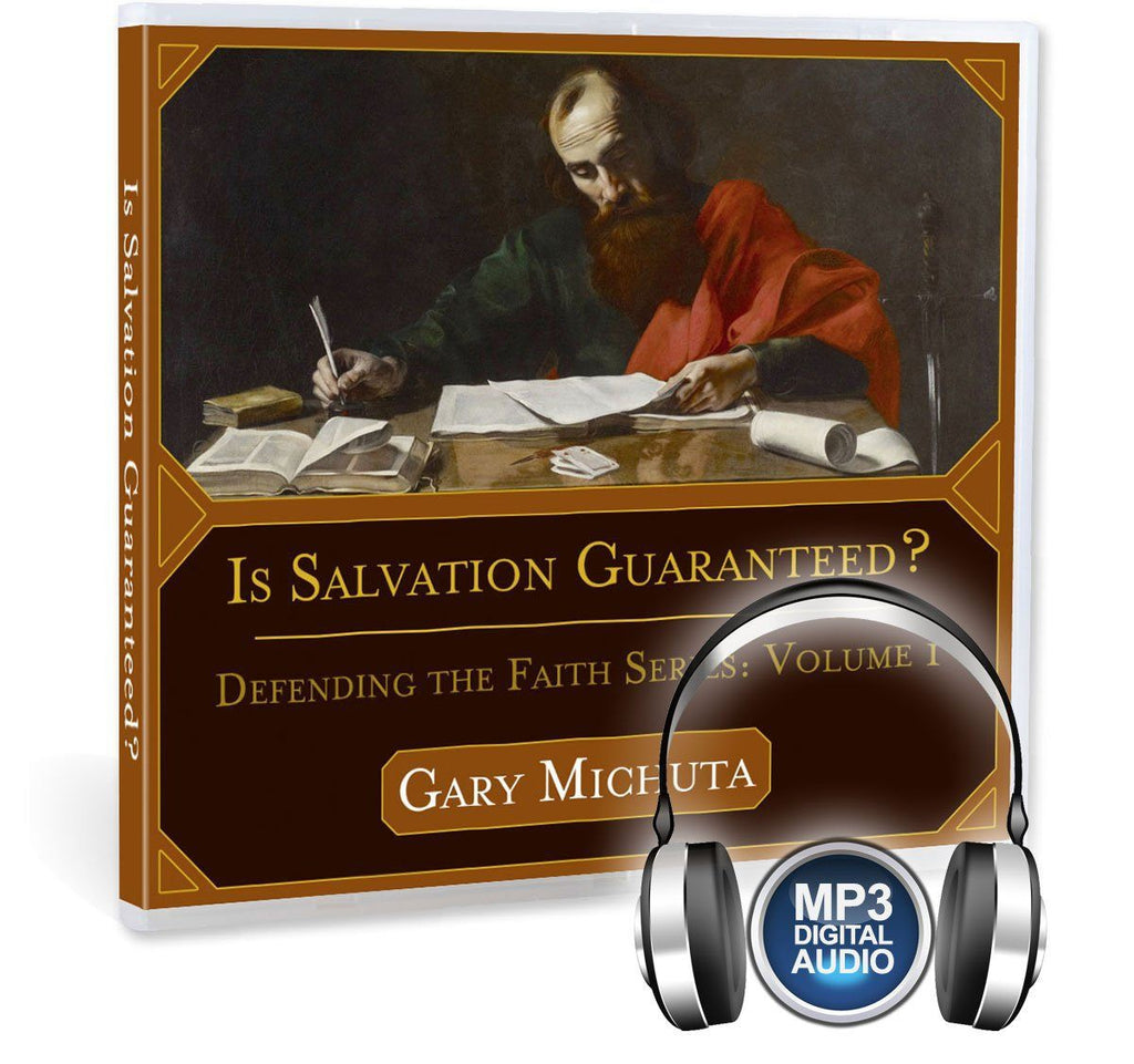"Many Christians think ""once saved always saved"" and that good works have no part in our salvation.  Is this biblical?  Gary Michuta covers these topics and others in this MP3."