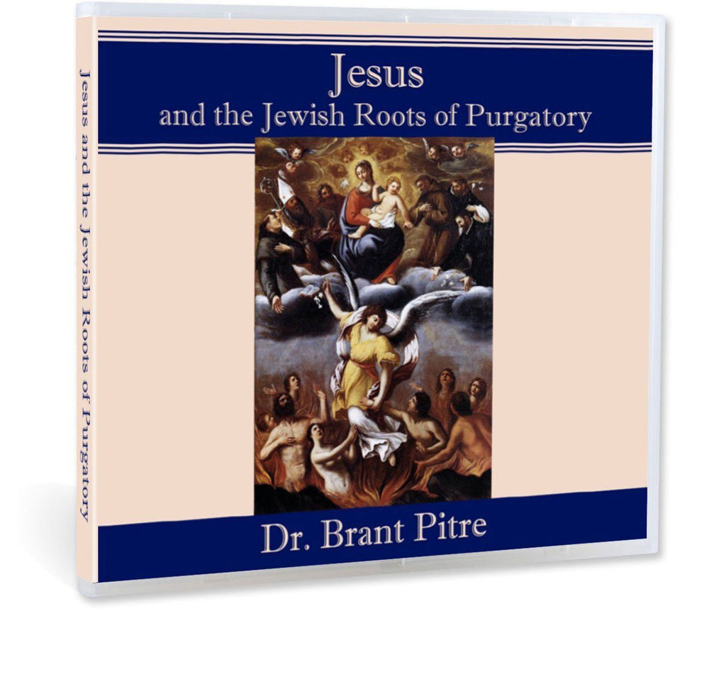 Many Catholic may say the Old Testament and St. Paul refer to purgatory, but does Jesus?  Dr. Pitre answers with an unequivocal yes in this Bible study on CD.