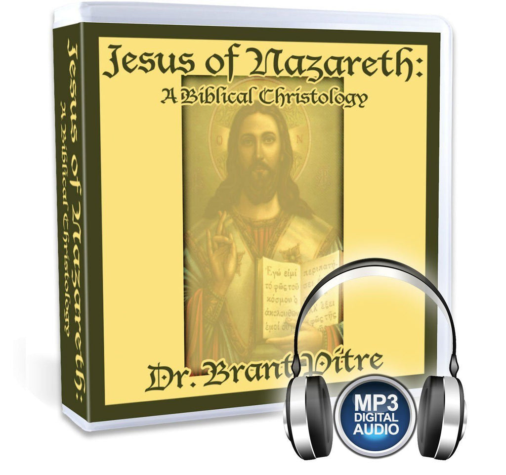 Dr. Brant Pitre gives a Biblical Christology, touring you through the mysteries of Jesus in the Gospels, Jesus' proclamation of the Kingdom of God, and Jesus' self-identity as the Messiah in this Catholic Bible study on MP3.