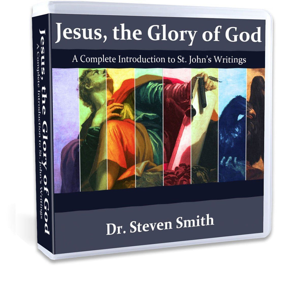 In this Catholic Bible study, Dr. Steven Smith will take you through all of John's writings in the New Testament, the Gospel, the epistles, and the Book of Revelation on CD.