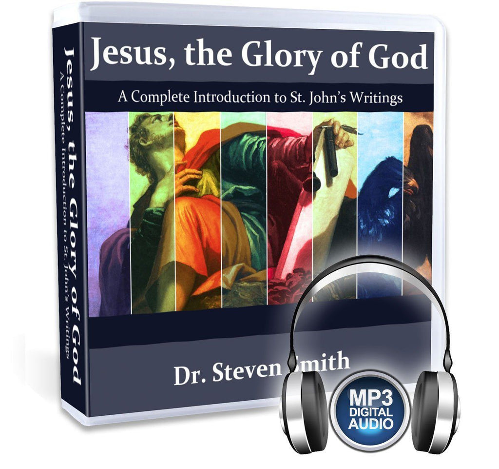 In this Catholic Bible study, Dr. Steven Smith will take you through all of John's writings in the New Testament, the Gospel, the epistles, and the Book of Revelation on MP3.