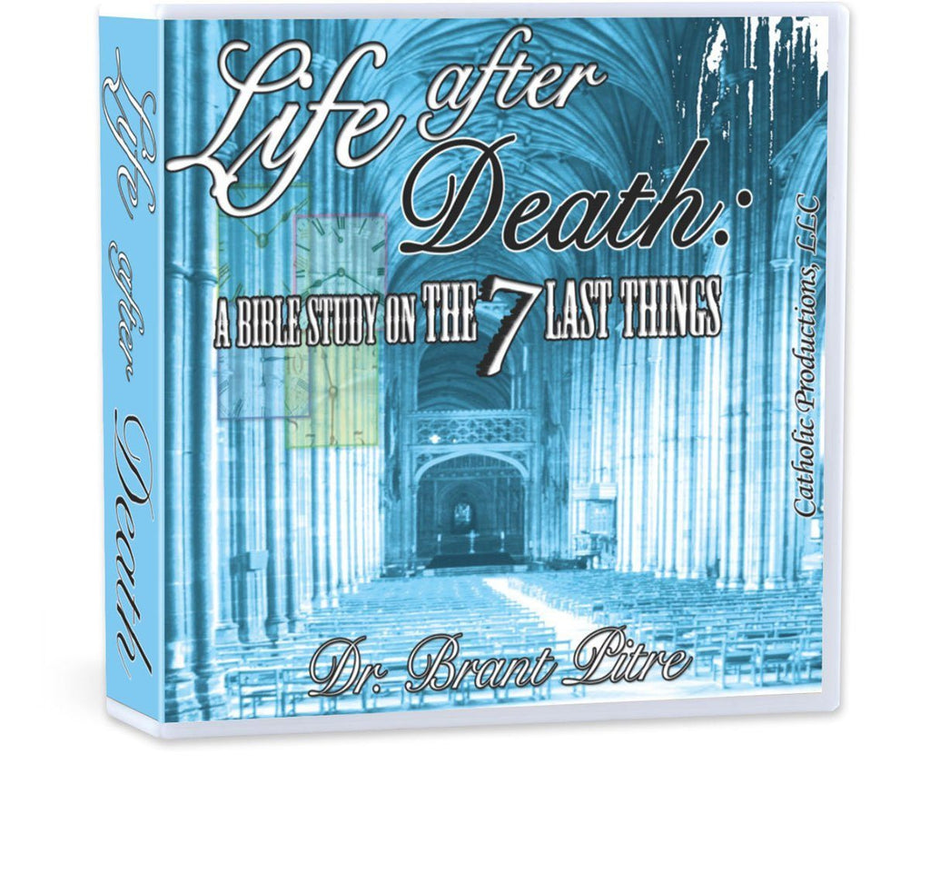 Dr. Brant Pitre takes you through the seven last things in this Bible study on CD: Death, Heaven, Hell, Purgatory, Final Judgment, Resurrection, and the New Creation