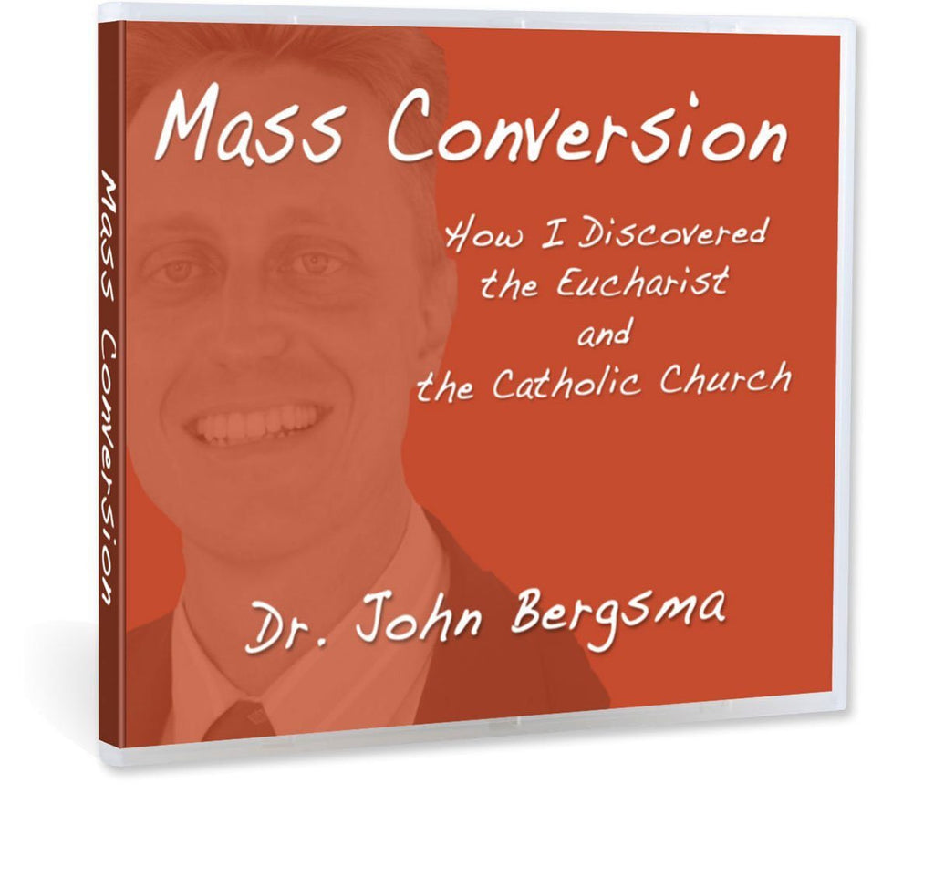 Dr. John Bergsma gives his conversion story Dutch Reformed Calvanism to Roman Catholic and the role the Eucharist and Scripture had to play in this presentation on CD.