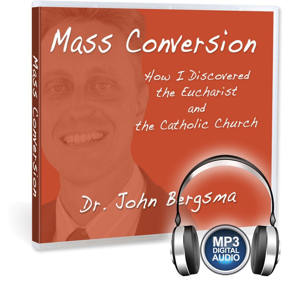 Dr. John Bergsma gives his conversion story Dutch Reformed Calvanism to Roman Catholic and the role the Eucharist and Scripture had to play in this presentation on MP3.