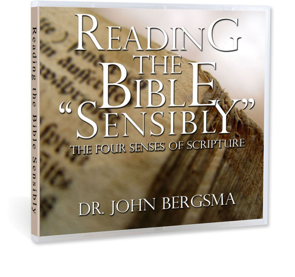 Dr. John Bergsma discusses what the traditional 4 senses of scripture are (literal, allegorical, moral and anagogical), why they fell out of favor in recent decades, and how we can recover them in this Bible study on CD.