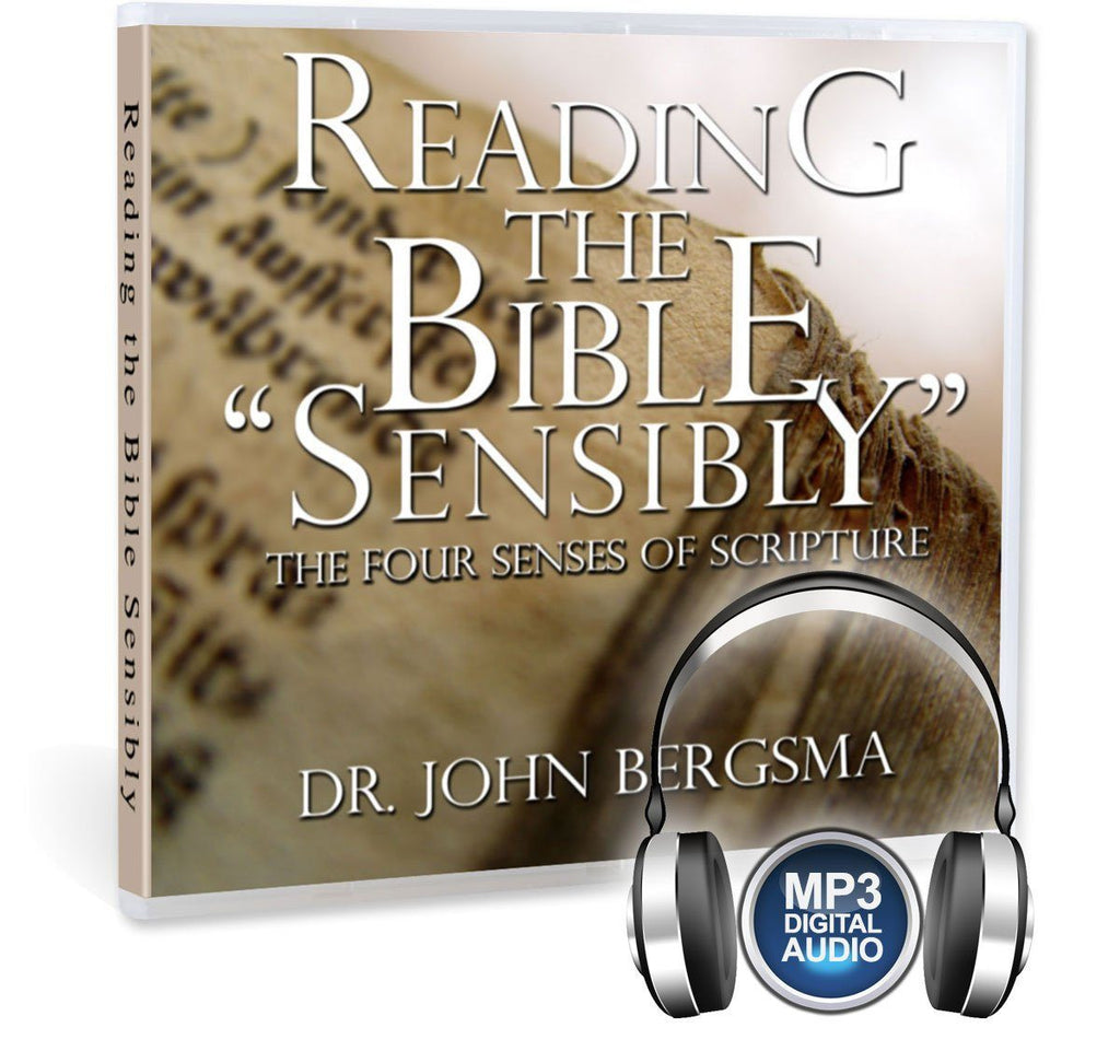Dr. John Bergsma discusses what the traditional 4 senses of scripture are (literal, allegorical, moral and anagogical), why they fell out of favor in recent decades, and how we can recover them in this Bible study on MP3.