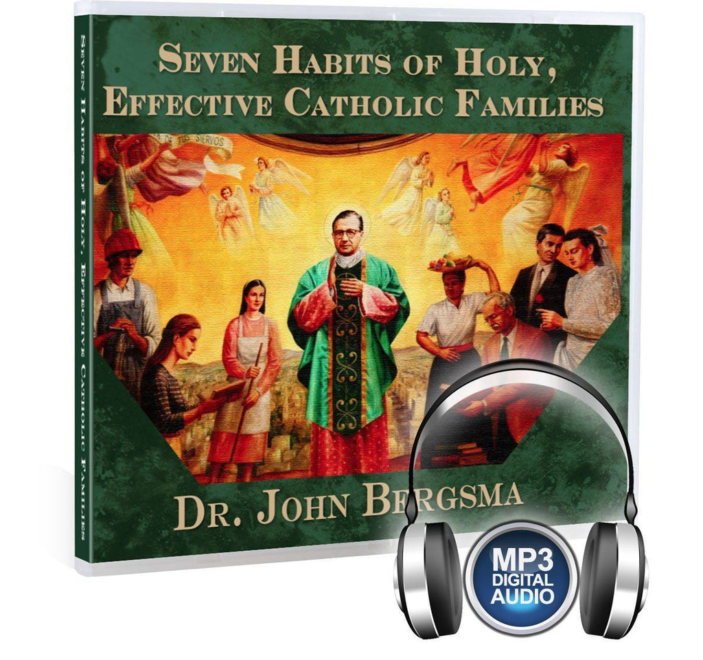 Dr. John Bergsma gives key, concrete steps on how Catholic families can thrive in the spiritual life with wisdom from St. Josemaria Escriva in this Bible study on MP3.