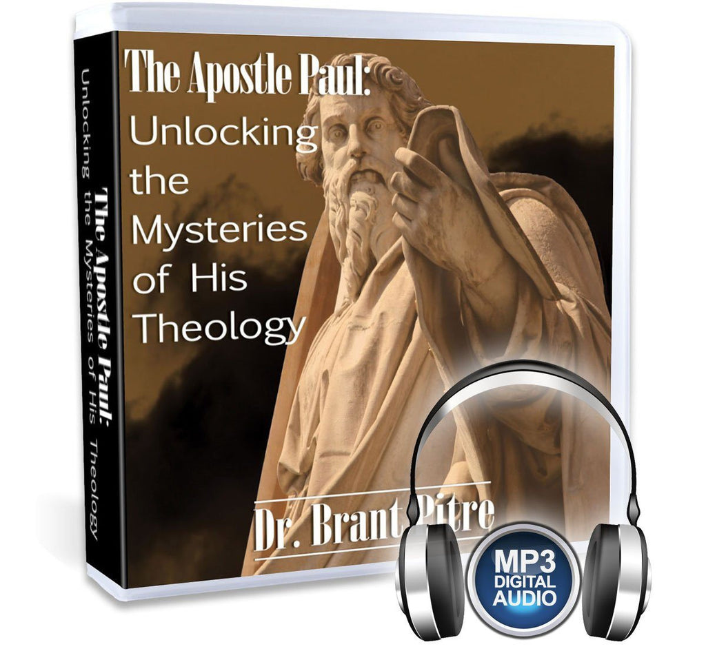 In this extensive MP3 Bible study on Paul's theology with Dr. Brant Pitre, you will cover topics such as the Mystery of the Law, the theology of the Body, the Mystery of Sin and Redemption, the End of Time and even St. Paul's theology of the angels.