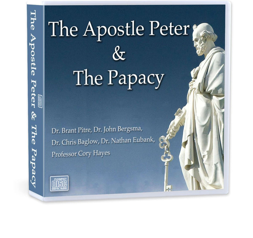 In this conference recording on CD on Peter and the Papacy learn about Peter's spiritual development in scripture, the infallibility yet sinfulness of Popes, the relationship of bishops and the Pope and Peter as the Rock of the Church Jesus founded.