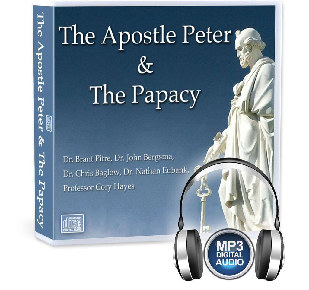 In this MP3 conference recording on Peter and the Papacy learn about Peter's spiritual development in scripture, the infallibility yet sinfulness of Popes, the relationship of bishops and the Pope and Peter as the Rock of the Church Jesus founded.