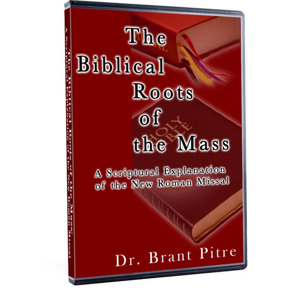 Dr. Brant Pitre explains the reasons for the change in some of the words at Mass in the Roman Missal from a Biblical perspective, on DVD.