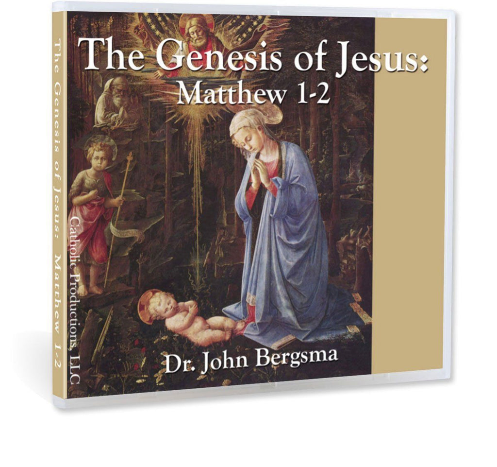 A Bible study explaining the genealogy in the beginning of the Gospel of Matthew and how it's actually conveying a deep understanding of who Jesus is, if read with Jewish eyes (CD).