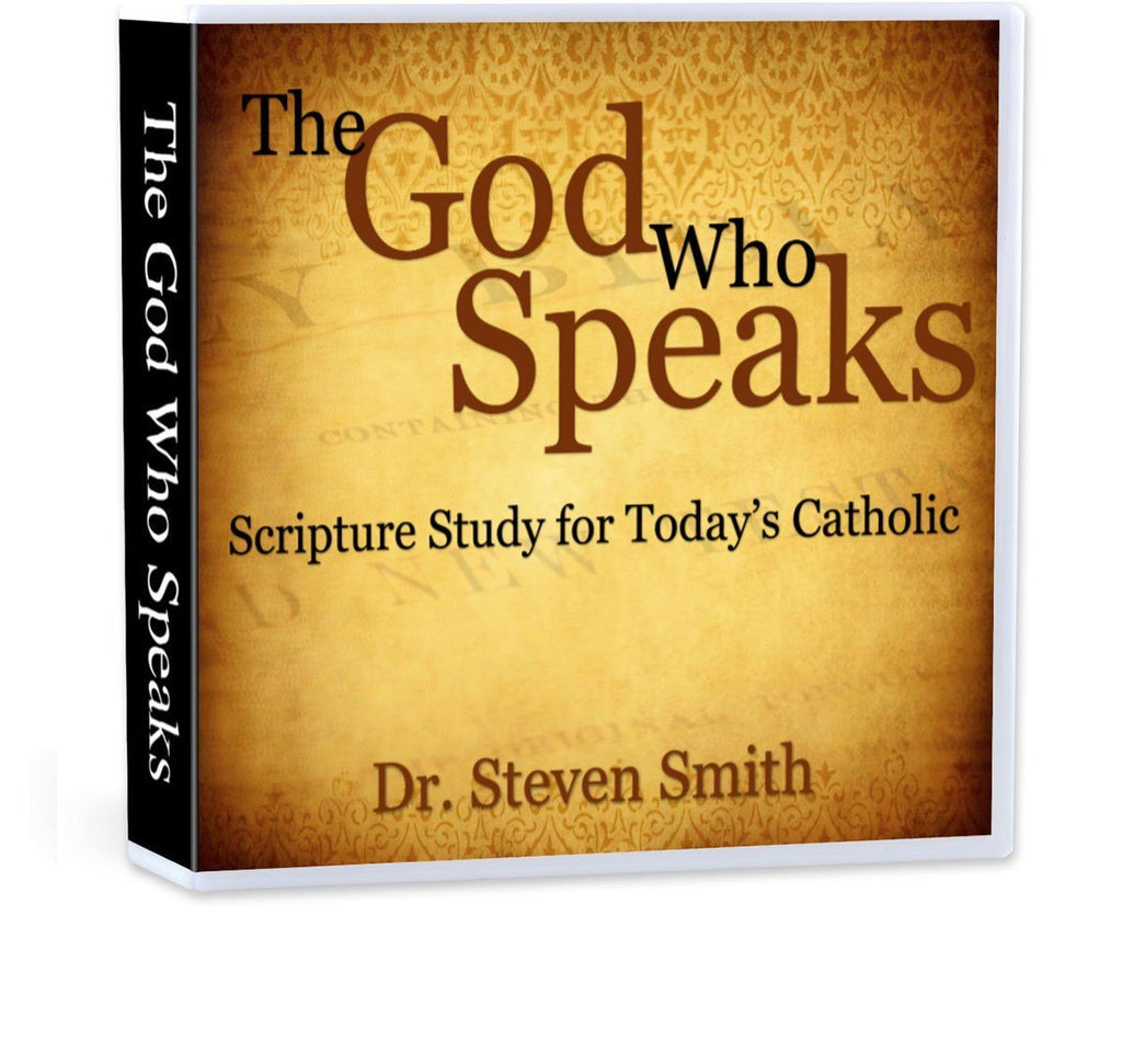 Dr. Steven Smith gives 7 principles for how to study the Bible as a Catholic (CD).